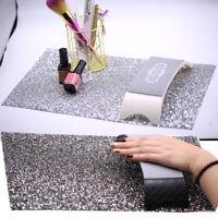 Waterproof DIY Nail Art Salon Practice Cushion Background Rhinestone Table Mat