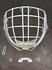 Vintage Sk2000 Hockey Helmet Hm50 Cage With Hardware Rare Cooper Screw Clip