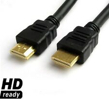 3m HDMI HD 3d ad alta velocità con Ethernet TV Cavo Di Piombo 1.4 v1.4 Gold - 3 METRI
