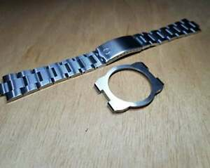 Solid Braclet omega dynamic geneve stainless steel with Ring band strap 10mm/22m