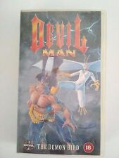 "DEVIL MAN ""The Demon Bird"" Anime 1994 Manga VHS Hi-Fi  Cert 18  A+ Condition"