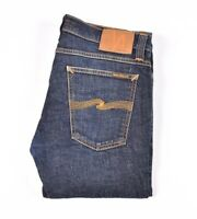 29182 Nudie Jeans Tight Long John Org. Twill Rinsed blue Men Jeans size 31/32