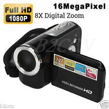"NEW HD 1080P 16MP Digital Video Camcorder Camera DV 1.5"" TFT LCD 8X Digital Zoom"