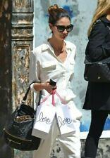 NWT Equipment Slim Signature Silk Shirt Blouse Nature White Size M, L $214