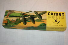 Vintage Comet Solid Balsa Wood Model B-26 Marauder Kit # M-2 1944