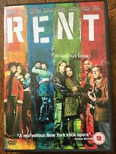 Rent DVD 2005 New York Based Musical Movie w/ Taye Diggs and Rosario Dawson