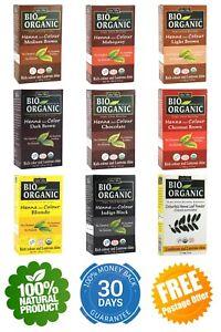 Henna Mehndi Hair Dye Colour Natural Organic Herbal Pure Indigo & Colourless