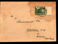 Germany Mi# 734 on Cover / Correct Rate / Toning - Z14067
