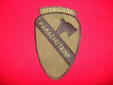1st Cavalerie Division de Airborne Parachute Inf Équipe - Vietnam Guerre Attenué