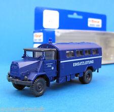 Roco H0 1637 MAN 630 L2A Koffer THW ELW Technisches Hilfswerk LKW HO 1:87 OVP