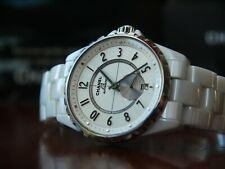 CHANEL J12 Automatic White Ceramic LADIES Watch H3837