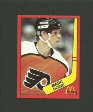 Mark Howe Philadelphia Flyers #31 1982-83 McDonald's Hockey Sticker NM/M