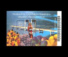 Brazilian Products Exportation Fruits Mi BL125, Sn 2899, Yt BF121 RHM 134 Bridge