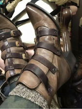 NW $275 FREEBIRD BY STEVEN TATE STONE ANKLE BUCKLE STRAP BOOTS Size 6