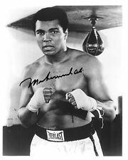 REPRINT - MUHAMMAD ALI #S3 Olympics Boxer Champion autographed signed photo copy