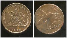 TRINIDAD ET TOBAGO    1  cent  1995