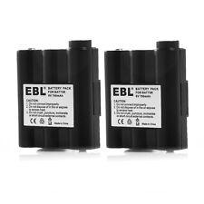 2x 700mAh Battery For Midland Radio Avp-7 Batt5R Gxt1000Vp4 Gxt1050Vp4 Gxt895Vp4