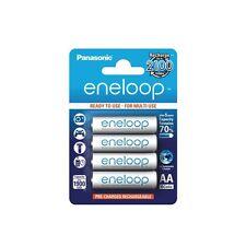 eneloop Panasonic Ni-MH Batterie rechargeable 1900mAh AA 1,2V V - 4 pièce