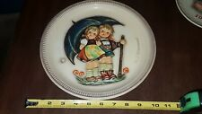 """1975 Goebel Hummel 1st Edition 10"""" Anniversay Plate Stormy Weather"""