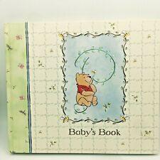 Disney Winnie the Pooh Baby's Book Memory Book Stepping Stones Nwob