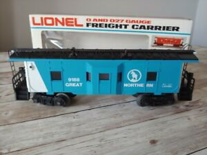 Lionel 6-9188 Great Northern Bay Window Caboose O Gauge  NOS