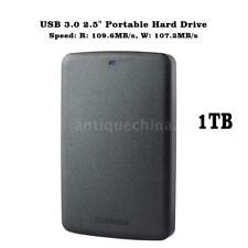 "Hot Toshiba Canvio Basics USB 3.0 2.5"" 1TB Mobile External HDD Hard Disk Drive"