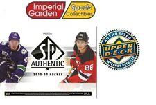 2019-20 Upper Deck UD SP аутентичные хобби хоккей в заводской упаковке коробке * Канада только *