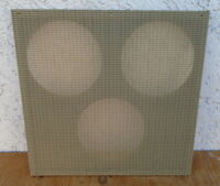 "TWEED BANDMASTER SPEAKER BAFFLE BOARD - EXCELLENT CLOTH 3 x 10"" COMBO GUITAR AMP"