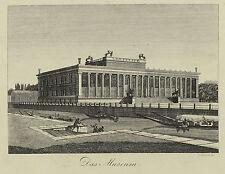 Sammlung von drei seltenen Berlin Ansichten um 1830