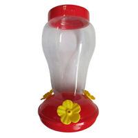 CW_ Garden Home Plastic Hummingbird Birds Water Feeder Bottle Wall Hanging Bowl