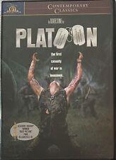 Platoon (1986) Charlie Sheen, Willem Dafoe, Tom Berenger (Dvd, 2000)