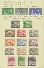 Turks & Caicos 1937-51 GVI Mint & Used Collection Cat£420