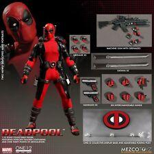 One:12 Collective DEADPOOL action figure~Mezco~Marvel Comics~X-Men~NIB