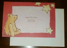 4-Winnie the Pooh photo Christmas Cards w/envel. Michel & Co.