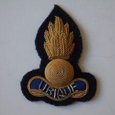 British Army Royal Engineers Officers Bullion Beret Badge