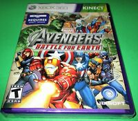 Marvel Avengers: Battle for Earth Microsoft Xbox 360 - Kinect - New-Sealed!