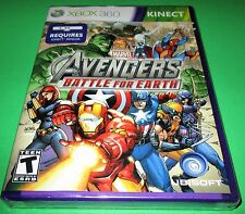 Marvel Avengers: Battle for Earth Microsoft Xbox 360 - Kinect - New-Sealed!