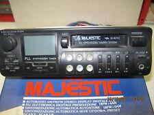 Autoradio Majestic SD 831 D degli DEL 1993 VINTAGE radio funzionante cassette no