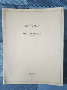 Decorative County Map Of Monmouthshire By Thomas Moule 1830, Tintern (B191216)