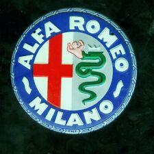 1953 Wheaties cereal premium car emblem - Alfa Romeo