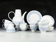 Björn WIINBLAD Rosenthal Lotus 6 Personen Kaffeeservice mit Stövchen ° unbenutzt