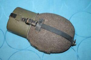 Feldflasche Wehrmacht mit Becher Hersteller HRE im TOP Zustand datiert 1942