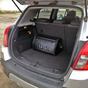 For AUDI Car Trunk Cargo Travel Foldable Storage Organizer Bag Box