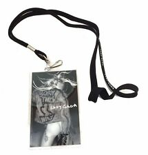 Lady Gaga Born This Way 2011 Butt Pic Stage Pass with Lanyard New Official Merch