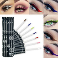Metallic Liquid Eyeshadow Glow Glitter Eyeliner Gel Longlasting Eye Cosmetic