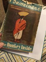 Bemelmans The Donkey Inside 1943 hardcover with prints ART
