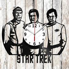 StarTrek Vinyl Wall Clock Made of Vinyl Record Original gift 2608