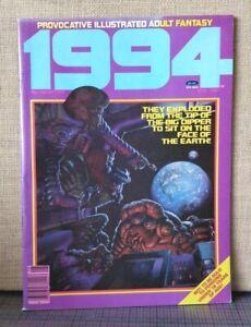 1994 no.26 August 1982 illustrated adult fantasy WARREN magazine