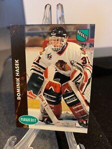 1991-92 Dominik Hasek Parkhurst #263 Rookie