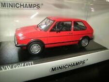 1:43 Minichamps VW Golf I GTI 1983 rot/red in OVP